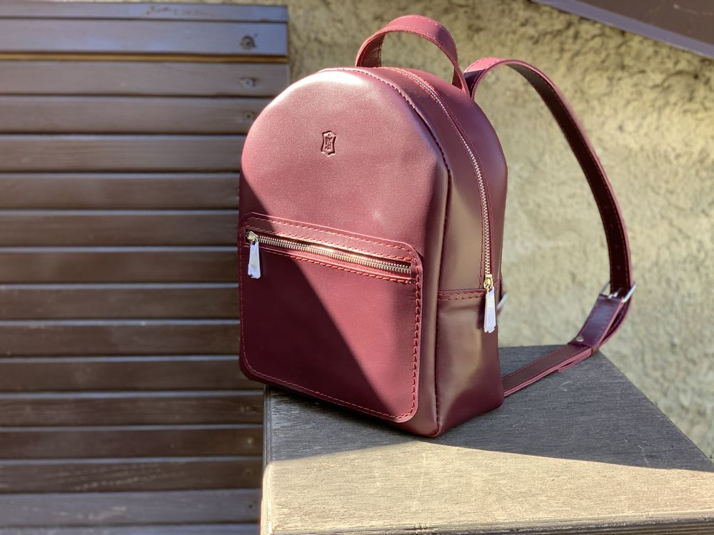 Кожаные рюкзаки WasBorn