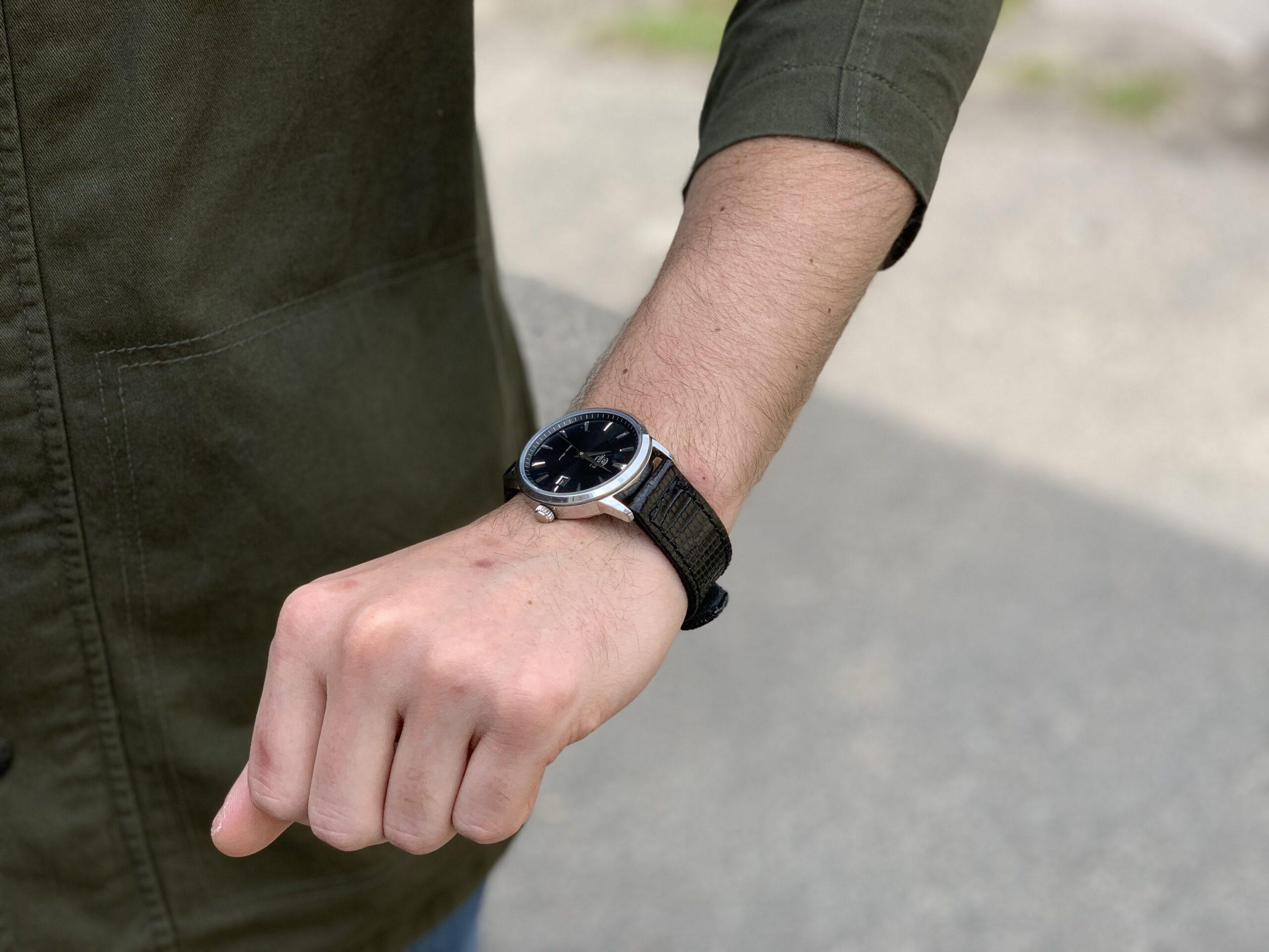 Ремешок для часов из кожи игуаны